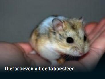 dierproeven uit de taboesfeer
